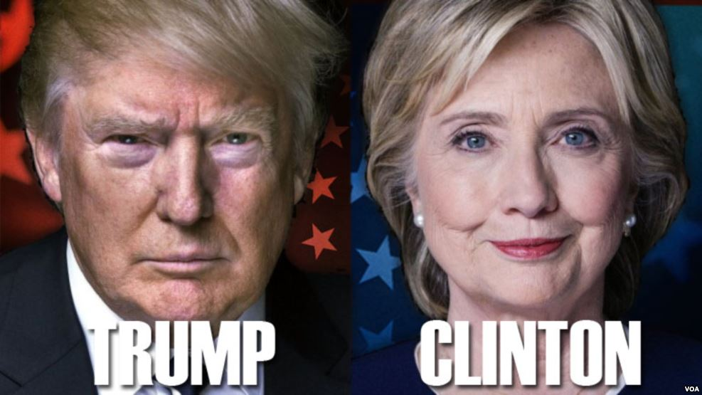 Президентские выборы. Клинтон, Трамп и Ромни